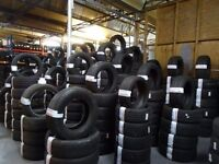 "** MATCHING PAIRS & SETS OF BRANDED 20"" CAR TYRES **ALL SIZES AV TXT SIZE TO**OPEN7DAYS * PUNCT £8"