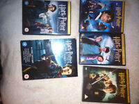 Harry potter years / films 1 -4, 1,2 ,3 ,4 dvd