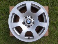 """3 x Genuine BMW E60 16"""" Alloy Wheels Style 134 £65 For The 3"""