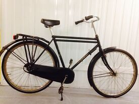 Classic Dutch City Bike Fully serviced offers smooth effortless ride