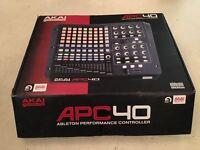 Akai APC40, Ableton Live Performance Controller (Boxed like new)