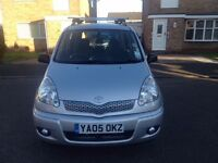 Toyota YARIS VERSO AUTOMATIC (LOW MILEAGE BARGAIN!!!)