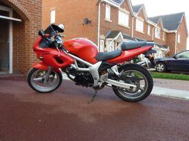 Suzuki sv400 motorbike