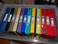 35 x File folders for A4, Ring Binder for 2 Hole Paper