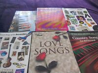 Selection of sheet music books some were £14and some £4as new £14 ones £5and £4ones £2