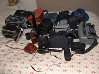 CAMERA BAGS AND LENS CASES