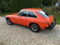 MGB GT 1981 Fully Restored with bills totalling over £20000!! Stunning condition any inspection !!