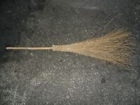 New Never Used Halloween Witch's broom very big and bushy 138cm very sturdy £12