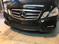 Mercedes e350 cdi breaking parts spares amg led lights c200 a180