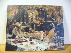 "James Tissot ""Holyday"" also ""The Picnic"" 1876 Art Print"