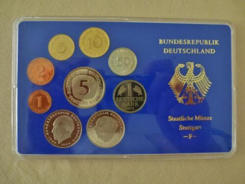 Brd Dm Kursmünzensatz Pp 1975 Polierte Platte Stuttgart F In München