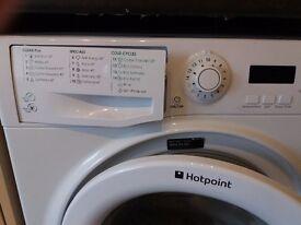 Hotpoint Washing Machine, 7kg, 1400 sprint, A++, White, 3 years old