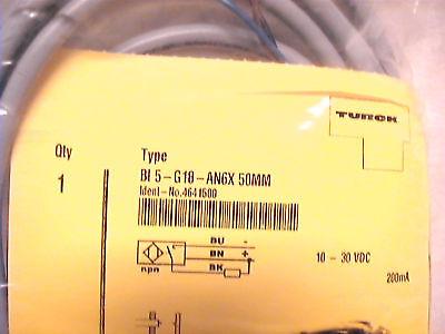 1 New Turck Inductive Proximity Sensor Bl5-g18-an6x Npn