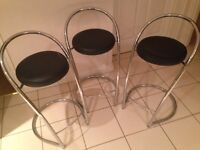 3 Kitchen stools from Leekes - 1 for £20 or 3 for £50