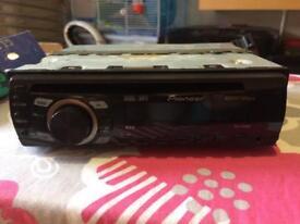 Pioneer car CD player stereo radio