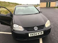 VW GOLF 1.6 FSI 6 SPEED px Audi polo Renault Clio Ford Focus Fiesta