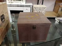 jewellery box pewter