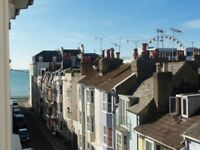 A double room to let in three bedroom seafront house