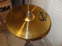 14 inch high hat cymbals
