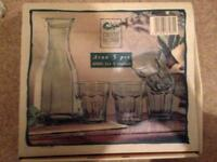 5 piece country home collection glasses and craft