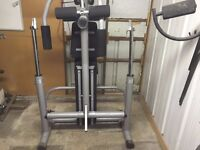 Used Reebok Multigym for Sale with weights