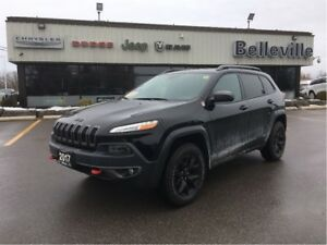 2017 Jeep Cherokee Trailhawk-Navigation-Back up Camera-Bluetooth