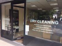 Dry Cleaning Reception Business For Sale in London, SE24