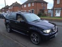 "2005 BMW X5 SPORT BLACK AUTO - WIDE ARCH HAMANN BODYKIT - 20"" ALLOYS - CHEAP CAR"