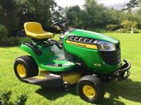 "John Deere X125 Ride on Mower - 42"" deck - Mulch kit - Lawnmower - Kubota/Countax"