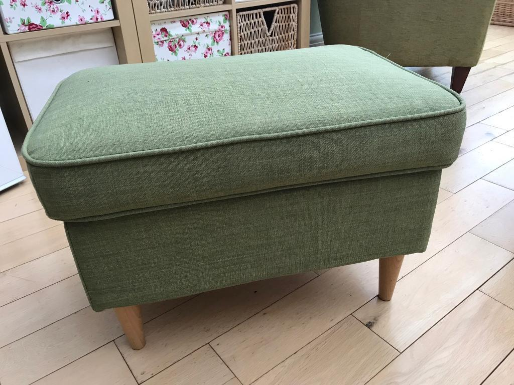 Strange Ikea Strandmon Footstool Green New In Southampton Hampshire Gumtree Theyellowbook Wood Chair Design Ideas Theyellowbookinfo