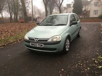 "2002 VAUXHALL CORSA CLUB 1.0 PETROL 3DR LONG MOT ""DRIVES VERY GOOD + IDEAL FIRST CAR"""