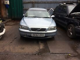 2002 Volvo V70 D5 Se Auto Estate Diesel 2.5L Blue BREAKING FOR SPARES