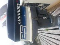 outboard motor for sale 25 evinrude