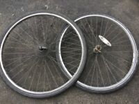 Weinmans wheels and Michelin tyres
