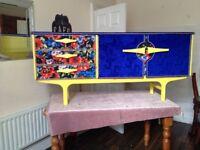 Funky retro sideboard