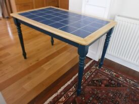 Tiled top kitchen/dining/farmhouse table