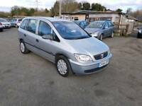 Zafira life 1.6L 5DR 2004 low mileage 1 year mot no advisory on mot certificate excellent condition