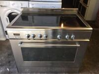 LOVELY DELONGHI ELECTRIC RANGE COOKER 90 CM WIDEWITH GUARANTEE 🇬🇧🇬🇧🇬🇧