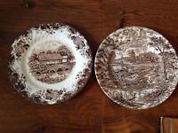 Collectables: Two Vintage Plates