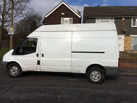 FORD TRANSIT T350 115HPI LWB HIGH ROOF YEAR 2008 READY TO WORK