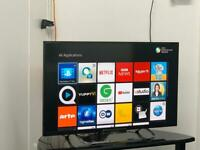 """32"""" Smart Sony WiFi Led Full HD 1080P tv Freeview Hd Youtube Netflix Excellent condition tv"""