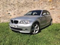 BMW 120i 5 DOOR HATCHBACK, 12 MONTH MOT, LEATHER INTERIOR