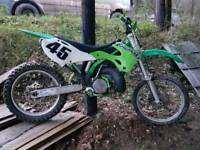 Kx 250 moto x bike