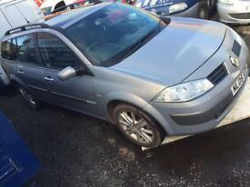Breaking 2005 Renault Megane Estate 1.9 dci