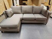 Bankeryd 2-seater w chaise lounge, left grey WAS £795.00 IKEA Warrington, #bargaincorner