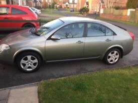 Nissan Primera 1.8s Full years MOT