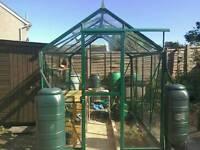 Castle Denbigh 6x8 Greenhouse Excellent condition