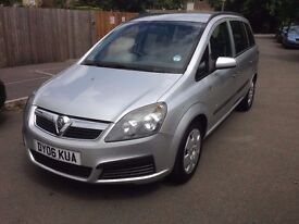 VAUXHALL ZAFIRA WITH LOW MILES