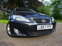 57 LEXUS IS 220 DIESEL 2.2,MOT DEC,2 OWNER FROM NEW,PART SERVICE HISTORY,STUNNING EXAMPLE THROUGHOUT