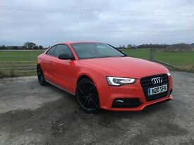 2015 Audi A5 Coupe 2.0 tdi S line Black Edition Plus CVT